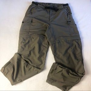 REI Womens 12 Convertible Hiking Pants To Shorts